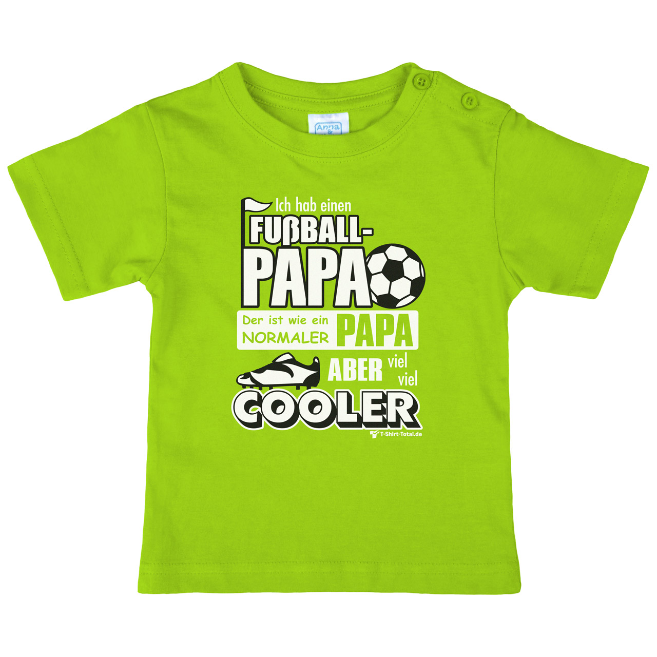 kinder t shirt fu ball papa t shirt. Black Bedroom Furniture Sets. Home Design Ideas
