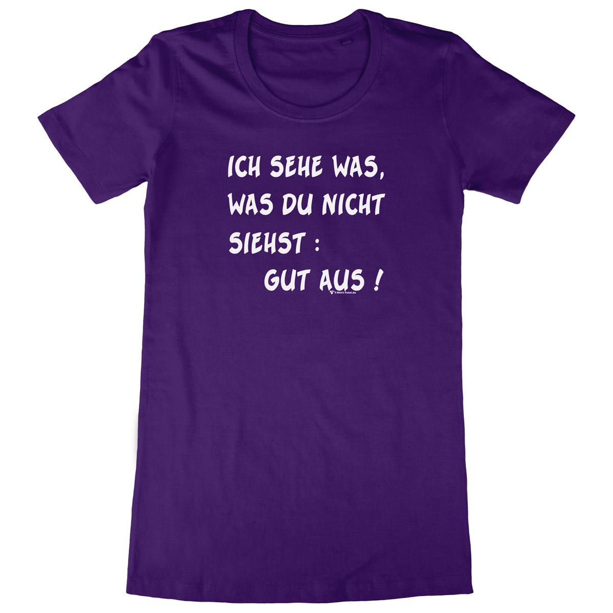 Woman Long Shirt Sehe Gut Aus T Shirt Totalde